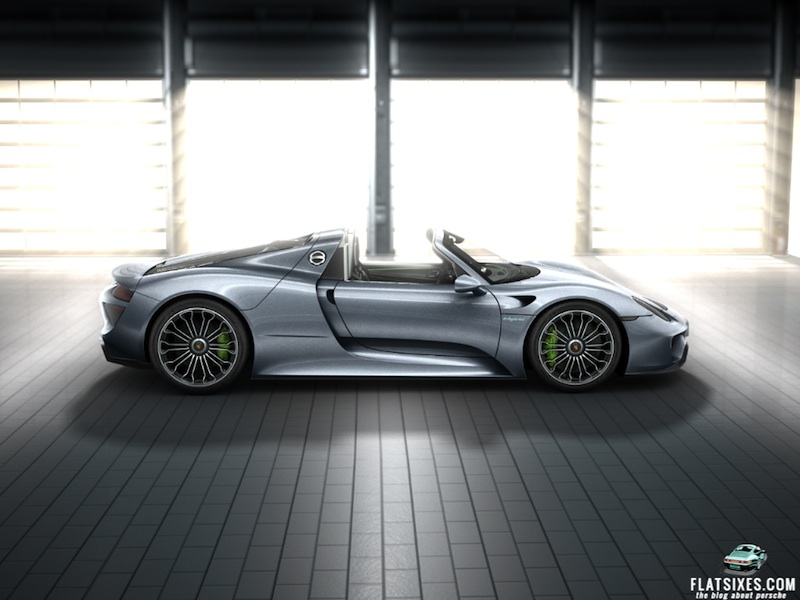 porsche 918 liquid metal chrome blue flatsixes. Black Bedroom Furniture Sets. Home Design Ideas