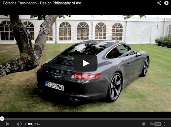 50th anniversary porsche 911 video