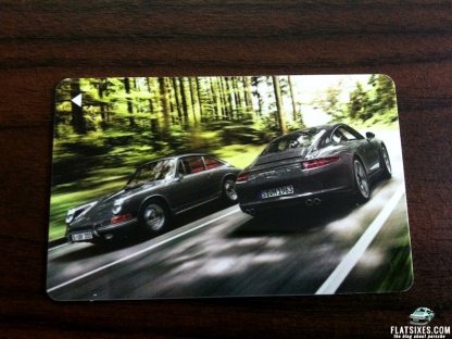 Win A Collectible 50 Years of the 911 Porsche Room Key
