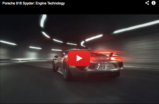 5 Driving modes of the Porsche 918
