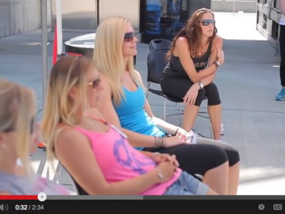 Oakley Athletes Attend the Porsche Sport Driving School Women's Only Course