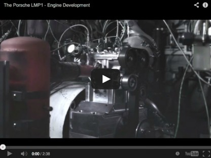 Video Explaining the Development Of The Porsche LMP1 Engine