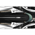 The LMP1 Looks Sleek From The Top