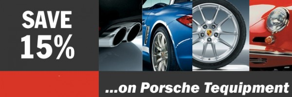 Porsche Tequipment coupon