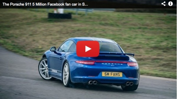 dede seward 5 million facebook fan porsche