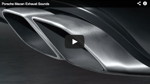 porsche macan exhaust sounds