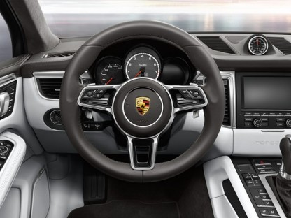 2014 Porsche Macan Chassis, Brakes and Steering
