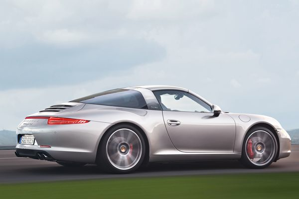 porsche confirms 911 targa to debut at naias in detroit flatsixes. Black Bedroom Furniture Sets. Home Design Ideas