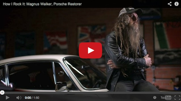 Watch Magnus Walker on Esquire's HOW I ROCK IT