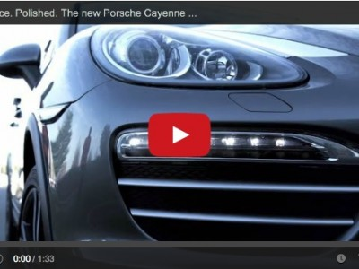 Porsche Cayenne Platinum Edition On the assembly line