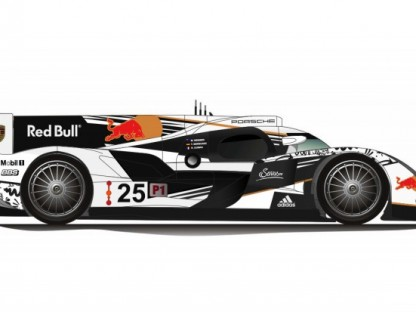 Could Red Bull Be Porsche's Title Sponsor Of Their 2014 LMP1 Team?
