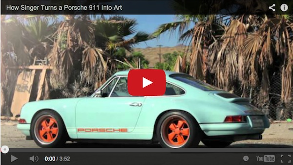 singer porsche video from car and driver