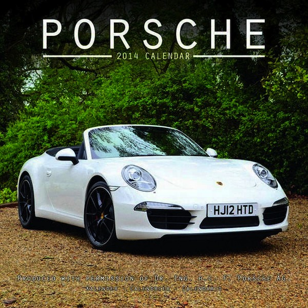 Choose From 4 Different 2013 Porsche Calendars
