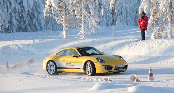 2014 Porsche Winter Driving Experience