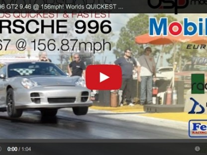 Is This 820hp GT2 The Quickest Porsche 996 In Existence?