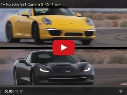 A New Chapter in the Old Corvette Vs 911 Battle