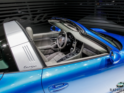 The 2014 Porsche 911 Targa In Pictures