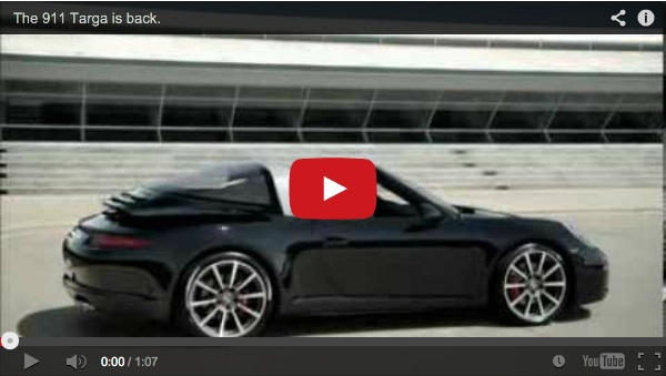This Is How The Incredible New Porsche 911 Targa Top Works