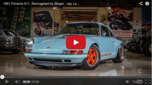 Porsche 911 reimagined by Singer on Porsche 911