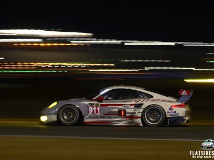 Porsche's Results And Pictures From The Rolex 24 Hours At Daytona