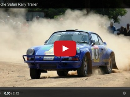 Brilliant Footage Of Tuthill Porsche In The Car Killing East African Safari Classic Rally