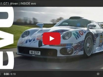 Exploring The Porsche 911 GT1 In More Detail: Video