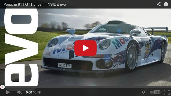 exploring the porsche 911 gt1 video