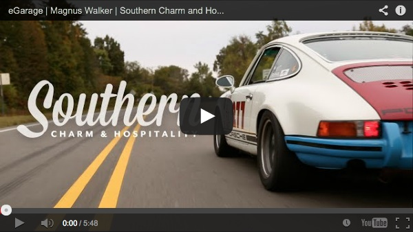 magnus walker southern hospitality porsche video from egarage