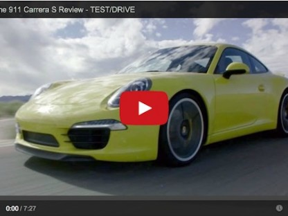Video Review Of The 2014 Porsche 911 Carrera S