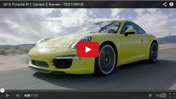 review of the 2014 Porsche 911 Carrera S