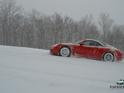 Can Your Porsche Climb A Ski Slope?
