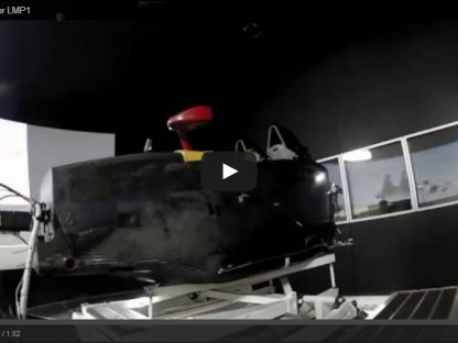 "Porsche's LMP1 Simulator ""Digital Dress Rehearsal"""
