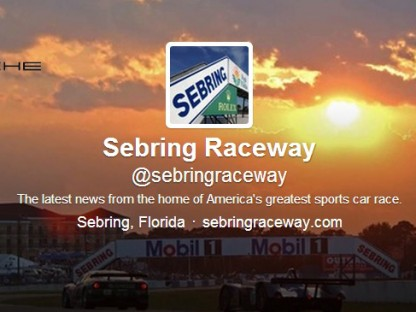 The 2014 12 Hours of Sebring On Twitter For Porsche Fans