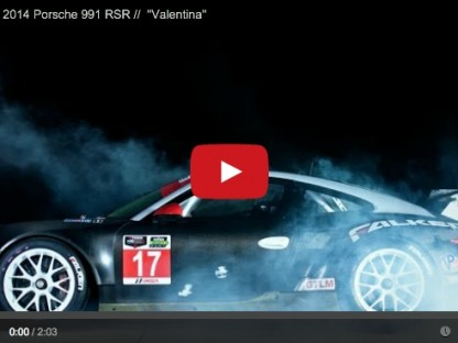 "Introducing ""Valentina"" Falken Tire's 2014 Porsche 911 RSR"