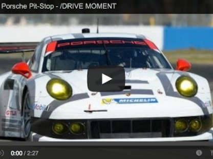 See What It Was Like During Porsche's Final Pit Stop At Sebring