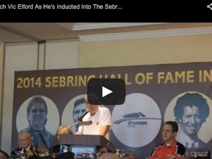 Watch As Vic Elford Is Inducted Into The Sebring Hall Of Fame