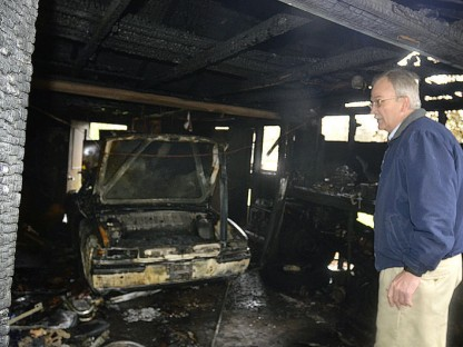 Lightning Strike Garage Fire Claims Enthusiast's Beloved 914