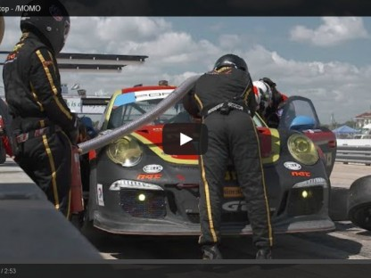 Video: MOMO's Perfect Porsche Pit Stop