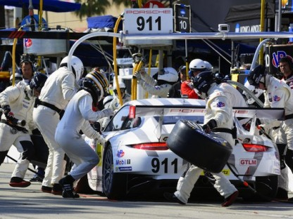 Porsche's Results And Pictures In The Tudor USCC At Long Beach