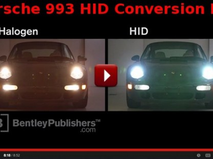 Here's A Video Explaining Exactly How To Convert Your Porsche 993's Headlights To HID