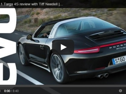 Video: Tiff Needell And EVO Review The 2014 Porsche Targa 4S