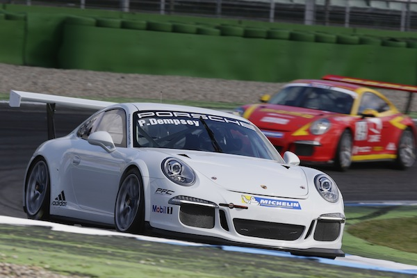 Patrick Dempsey, Test Porsche Mobil 1 Supercup Hockenheim