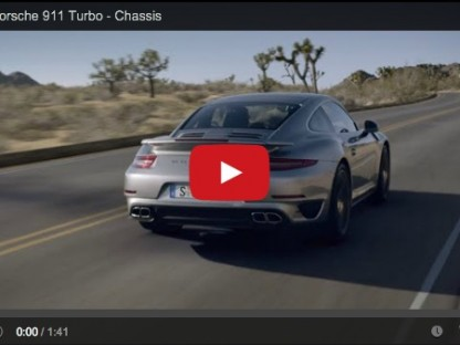 Porsche 911 Turbo chassis video