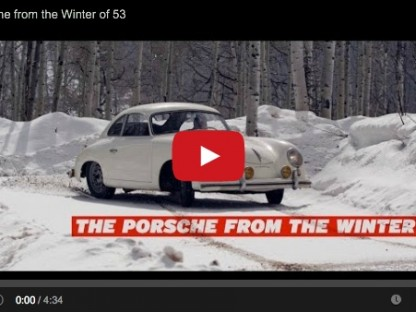Video: A Snowy Ride In Jeff Zwart's 356 Pre-A Coupe