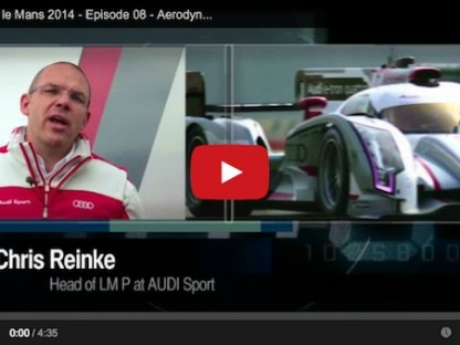 How The New Regulations Affect Aerodynamics On The LMP1 Cars In The 24 Hours of Le Mans