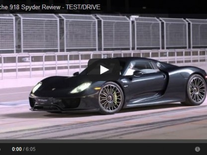Video Review: Wringing The 918 Spyder's Neck