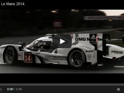 Porsche's Post Le Mans Vow To Not Give Up