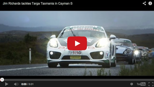 jim richards porsche cayman targa tasmani
