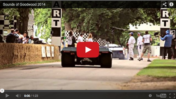 sounds of porsche goodwood festival of speed