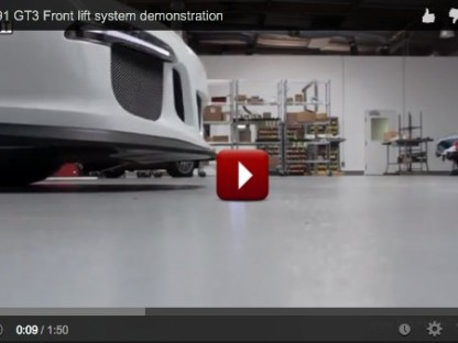 This Is How The Porsche 991 GT3 Front Axle Lift System Works
